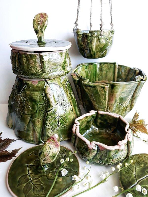 GreenKerami большая ваза