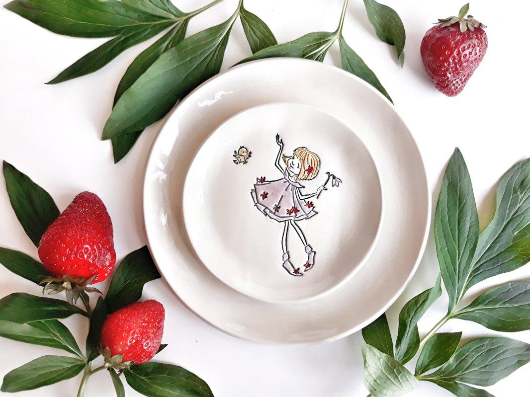 Small plate ''Mathilda''