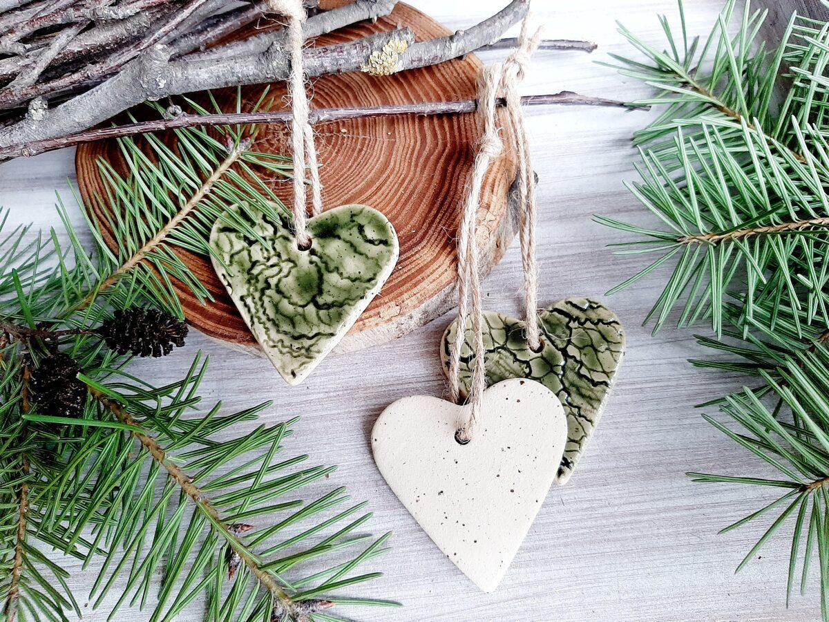 """Sirds dekori """"Egles mīlestība"""""""