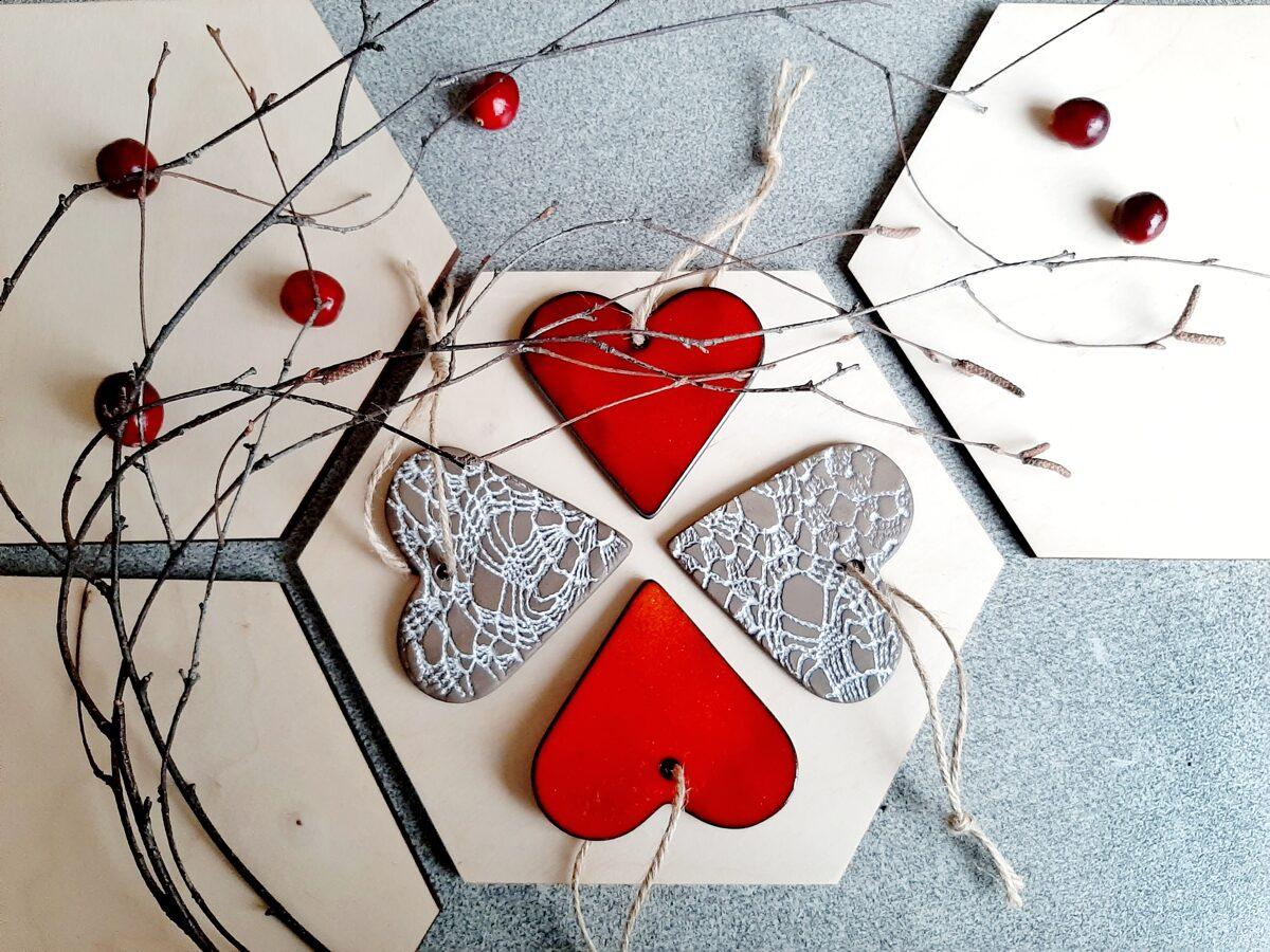 """Sirds dekori """"Ziemas mīlestība"""""""