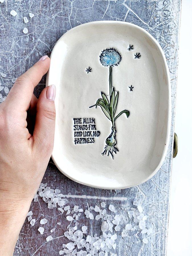 """Šķīvis """"Allium"""""""