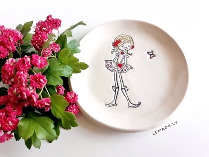 Small plate ''Olivia''