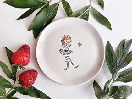 Šķīvis ''Olīvija''